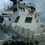 Getting on the Boat